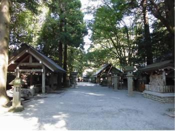 高千穂町4 天岩戸神社 参道風景.jpg