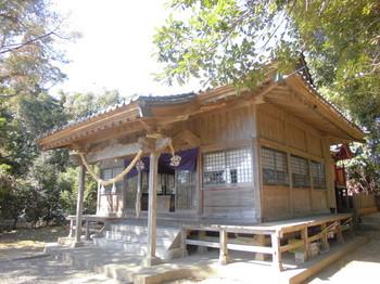 6新富町 八幡神社 ご社殿3.JPG